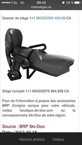 Siege 1+1 brp skidoo universelle