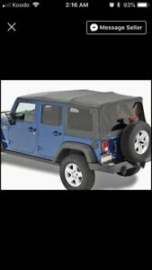 New soft top still in boxes never use asking 1000$$