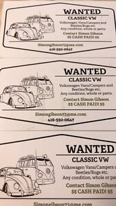 Wanted old Volkswagens