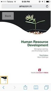 Human Resource Development by Brian Delahaye (Second Hand) West Hoxton Liverpool Area Preview