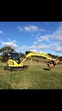 5.5t excavator for dry hire Ulverstone Central Coast Preview