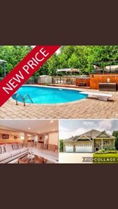 Beautiful Custom Home with Private Oasis - Reduced by 50K !!