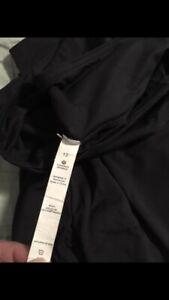 Black lululemon harem pants size12