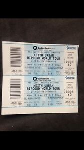 Keith Urban tickets Sydney Knoxfield Knox Area Preview