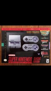 NEW Super Nintendo Mini SNES Super NES Classic
