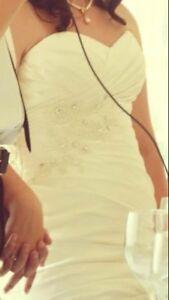 Trade wedding dress for calf.