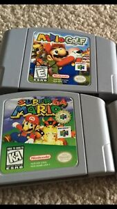 N64 and games for sale!