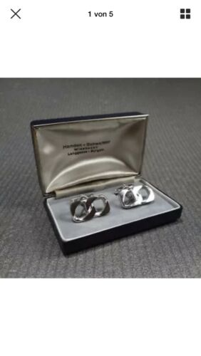 Antike Manschettenknöpfe 800 Silber - Infinity - Smoking - Hemden - Vintage