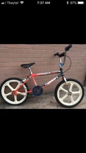 Wanted old school bmx
