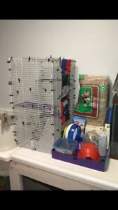 Hamster/Small Animal Cage with lots of accessories!