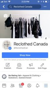 New Second Hand Clothing Shop!