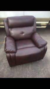 BRAND NEW!!!!!!! Leather recliner 2 available
