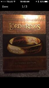 Collection Lord of the Ring & Star War DVDS