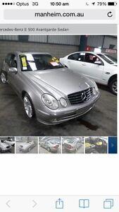 Mercedes e500 2003 Craigieburn Hume Area Preview