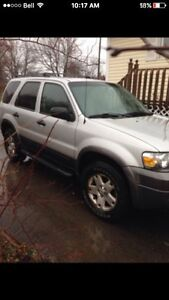 2006 FORD ESCAPE XLT SUV rust free