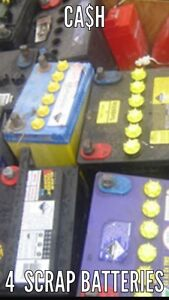SCRAP METAL BATTERIES WANTED LARGE AMOUNTS ONLY CASH PAID Revesby Bankstown Area Preview