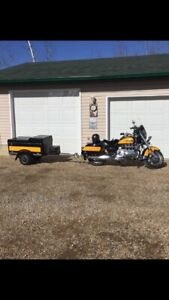 PRICE REDUCED 2000 Honda Valkyrie and matching trailer