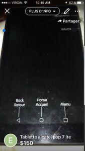 Tablette alcatel pop 7 lte