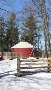 Yurt for Rent in Gatineau Park This Weekend  (May 26-27, 2018)