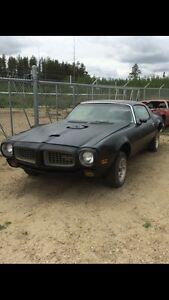 1973 firebird relisted  reduced price $4500 this week only