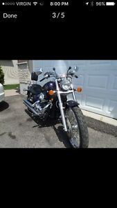 2008 Honda Shadow 750 custom paint job