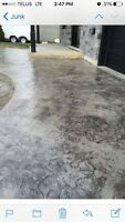 Decorative concrete! Spring specials