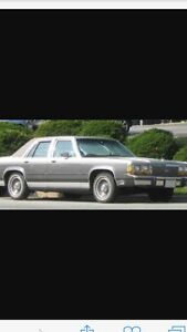 1988-1991 crown Victoria or grand marquis