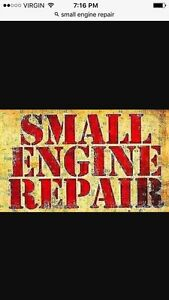 Cheap small engine repairs and garbage hauling