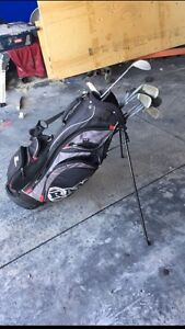 Golf bag and clubs. 40$ OBO