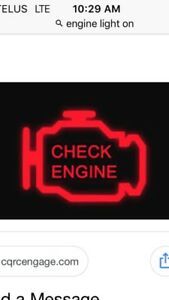 Is your engine light on?