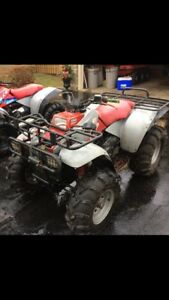 Polaris 350 liquid cooled 4x4 for sale