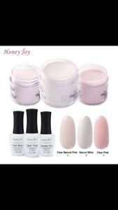 Acrylic Dip Powder French Nails Kit