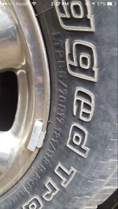GMC tires and rims for sale