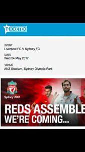 Liverpool vs Sydney FC tickets Homebush Strathfield Area Preview