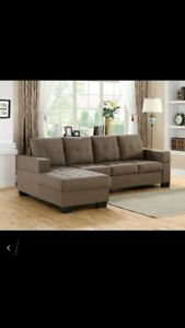 •••••Pearl Fabric Sectional Sale•••••