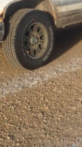 6 bolt eagle rims and tires