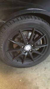 Mercedes benz winter rims and tires! 17 inch