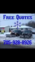 Kinmount To Bobcaygeon Snow Plow Fully Insured!