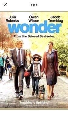 Wonder (DVD, 2018) NEW*  Drama, Family*