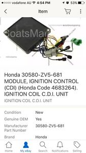 Honda Cdi module / ignition coil Forrestdale Armadale Area Preview