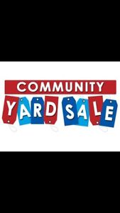 Large community yard sale this Saturday the 30th on Salisbury rd