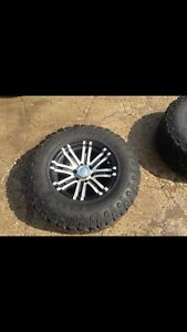 RIMS AND TIRES FOR SALE 285/70R17