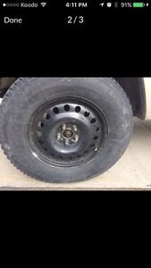 17 inch jeep rim with at tires