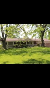 House in farm country, minutes from Hamilton for sale