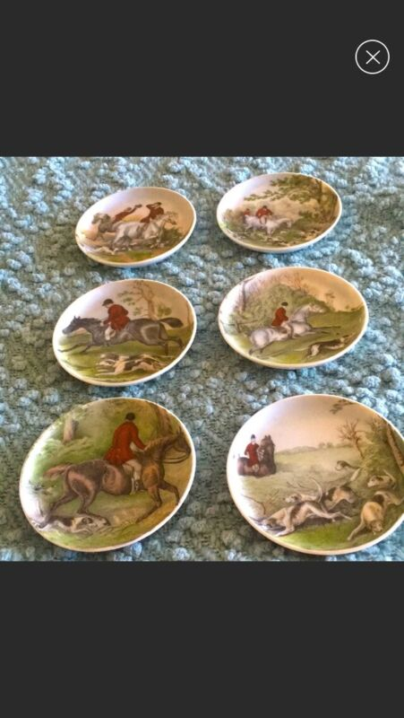 Kaiser Equestrian Horse Germany coasters trinket dishes? Collectables
