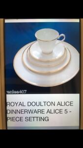 Royal Doulton Alice Collection-12 Couverts NEUF/NEW