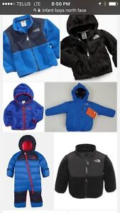 I'm looking for boys north face clothing