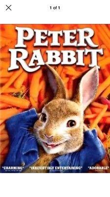 Peter Rabbit (DVD,2018) - New!