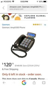 Landline Phone For Hearing inpaired