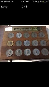 Prime ministers of Canada coin set